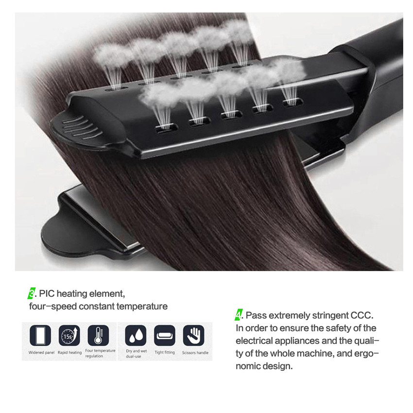 Hot-sell anion hair straightener Bang-shaper