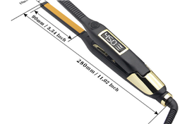 Narrow 2 in 1 hair straightener